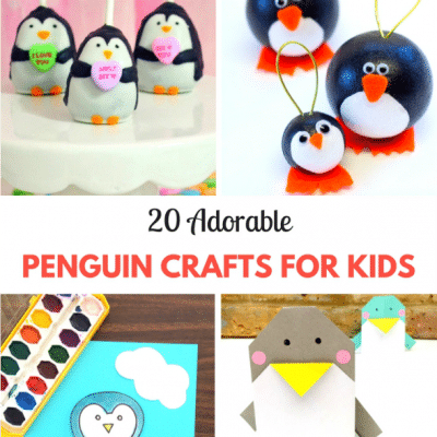 20 Adorable Penguin Crafts