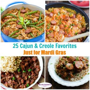 25 Mardi Gras Food Favorites