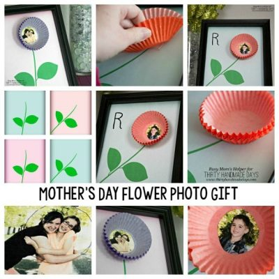 Mother's Day Flower Photo Gift