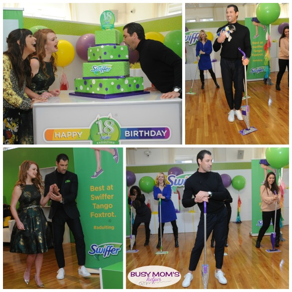 The Funniest #AdultingFail Stories from Swiffer's 18th Birthday Bash! #SwifferFanatic #GottaSwiffer #partner