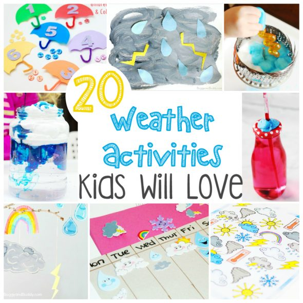 20 Weather Activities Kids Will Love Busy Moms Helper