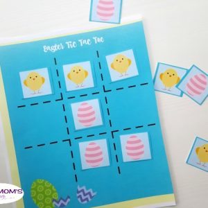 Easter Tic Tac Toe Printable