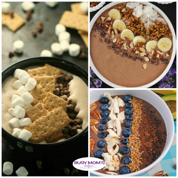 24 Healthy & Delicious Chocolate Smoothie Bowls - Busy Mom's Helper