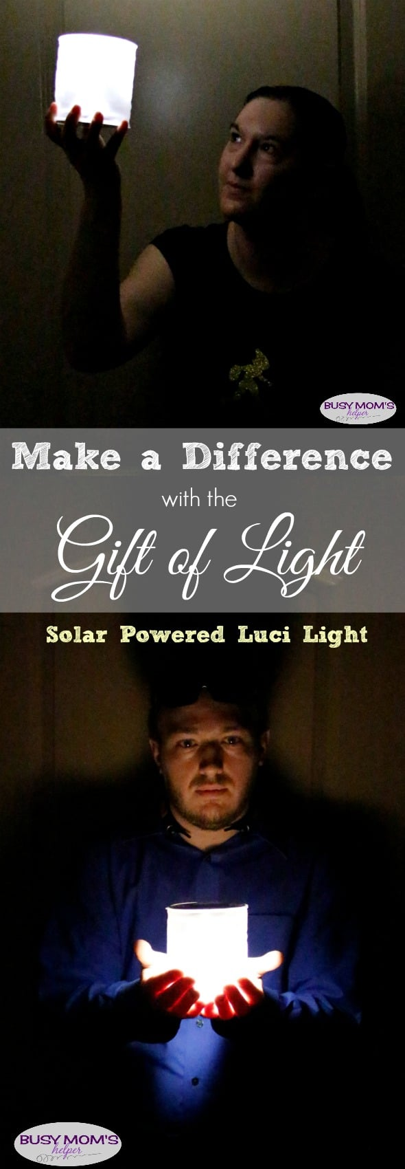 Make a Difference with the Gift of Light / Luci Light Solar Powered #GiveBrighter #ad @directenergy