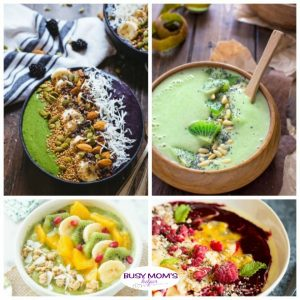 23 Delicious & Healthy Smoothie Bowls - Busy Moms Helper