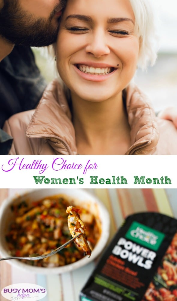 Make the Healthy Choice for Women's Health Month #HCMeals4Women #ad