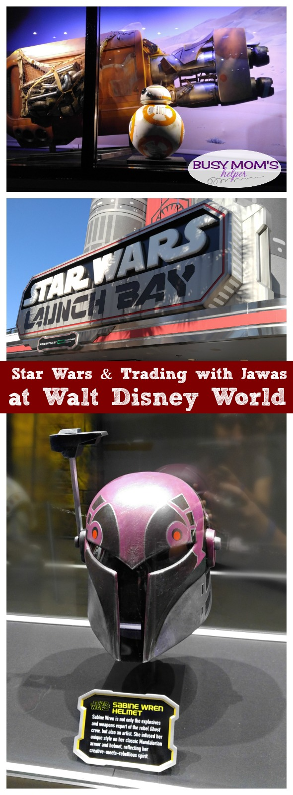 Star Wars & Trading with Jawas at Walt Disney World