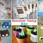 Summer Camp Kits #ad Earn extra money this summer throwing a fantastic summer camp for kids - our camp kits have all the instructions, tips, recipes, tutorials, crafts & lots of printables to get you going!