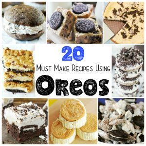 20 Recipes Using OREOS