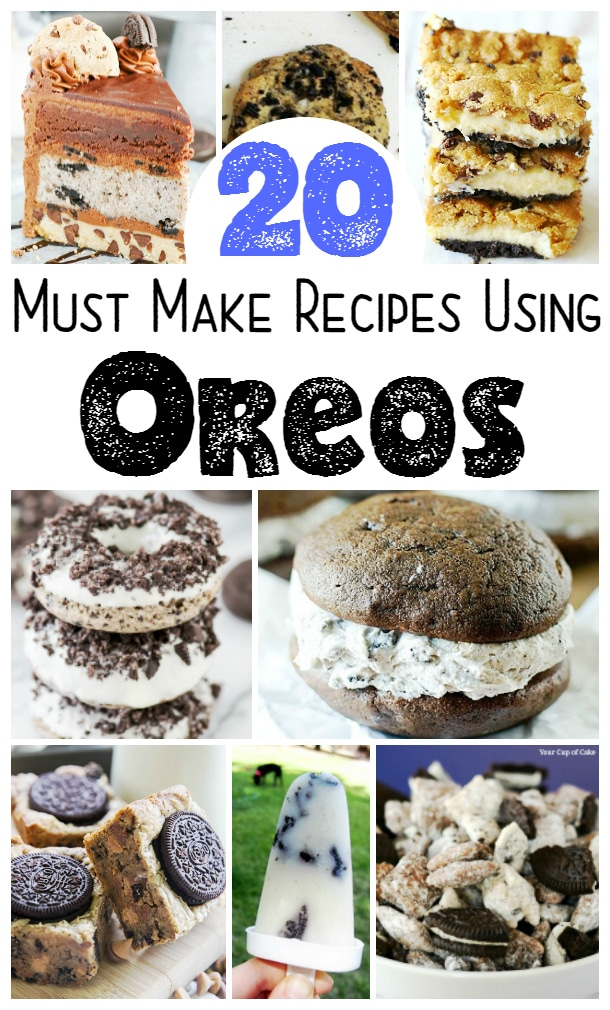 20 Must Make Recipes Using OREOS