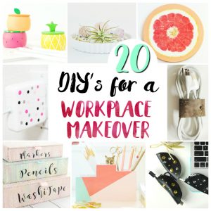 20 Home Office DIY Projects