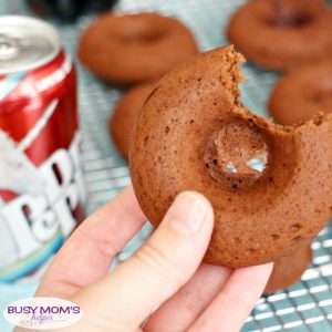 Dr Pepper Donuts for a Summer Party