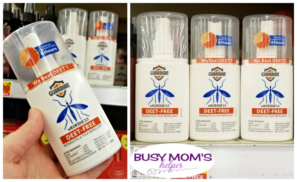 Safe Bug Repellent? YES! Get Outside Without the Worry of Bugs with GUARDIAN #AD #WeBeatDEET #Kroger