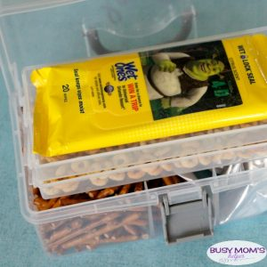 On-the-Go Snack Station for Back to School
