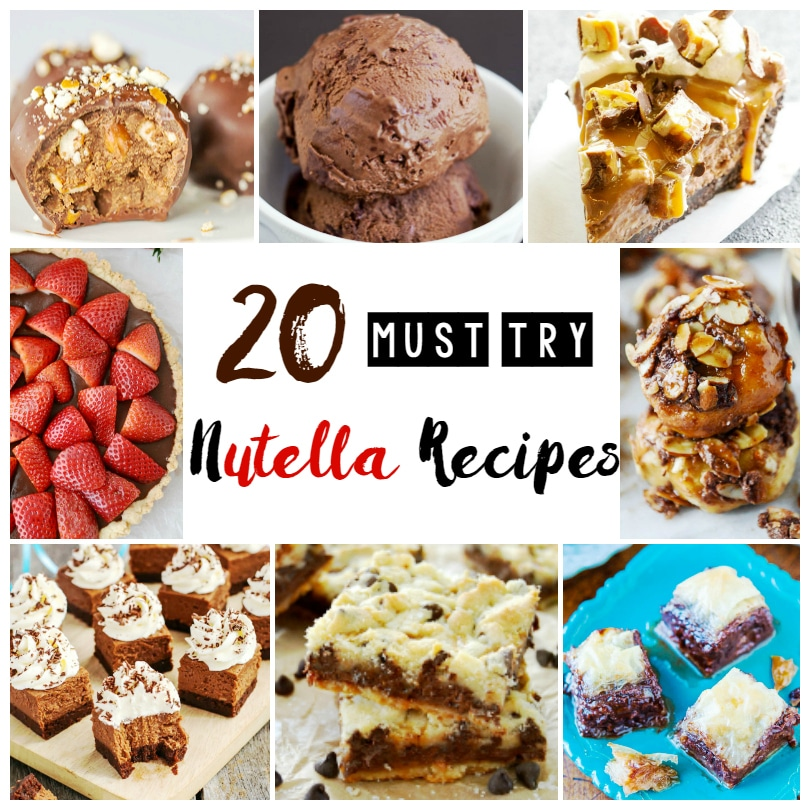20 Must Try Nutella Recipes