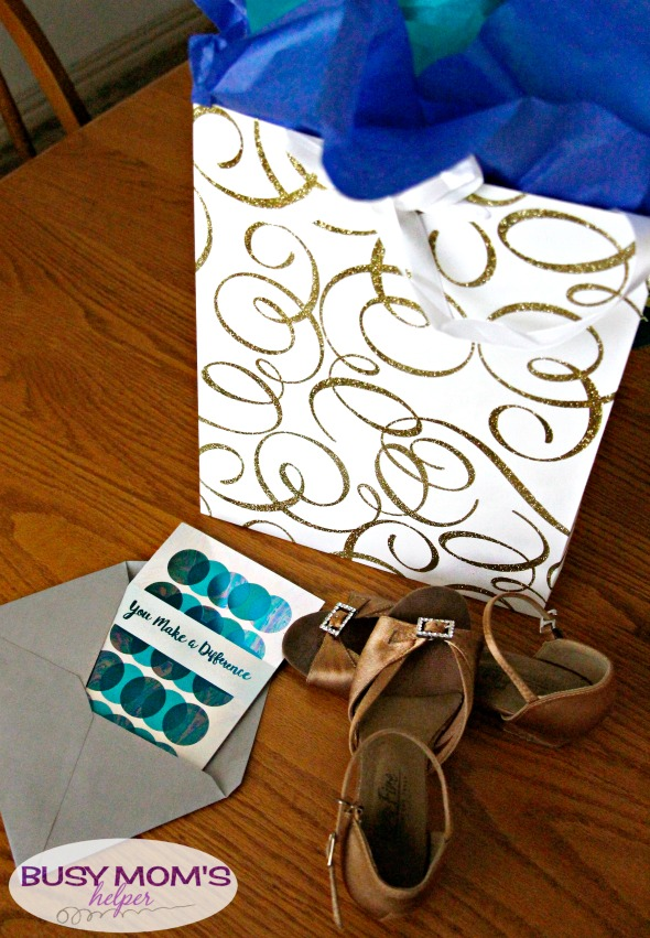 Dancer Gift Bag #ad #CelebrateAllSummer