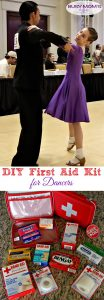 DIY First Aid Kit for Dancers #ad @Target #SootheYourSoreSpots