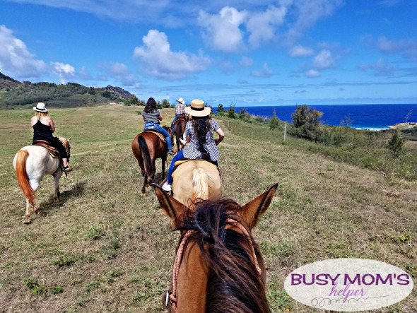 Horseback Riding in Kauai Hawaii #Ad #KauaiDiscover