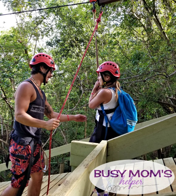 Ziplining in Hawaii with Outfitters Kaua'i #Ad #KauaiDiscovery