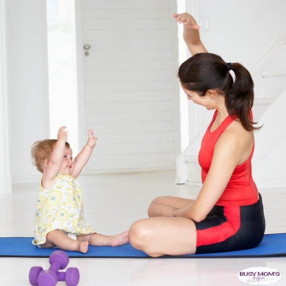 Finding Time to Exercise with a Toddler