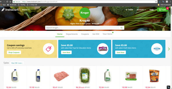 Why Instacart is Perfect for Busy Moms #ad