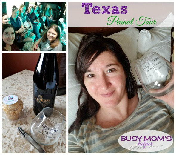 Texas Peanut Tour - learning more about peanuts & wine making in Texas! #ad #TXPeanutTour17