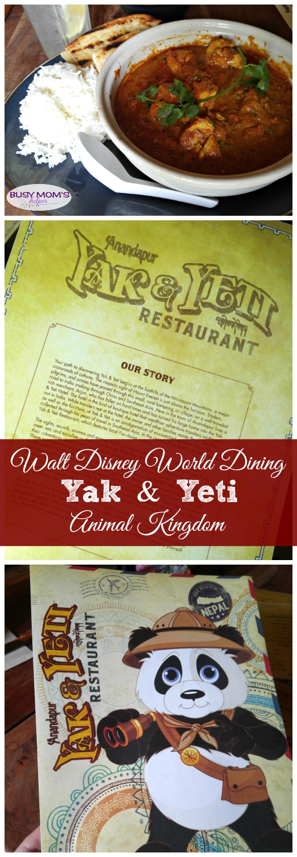 Dining at the Yak & Yeti Restaurant at Walt Disney World's Animal Kingdom (affiliate) #ad