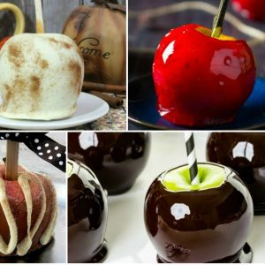 16 Fun Candy Apples for Fall