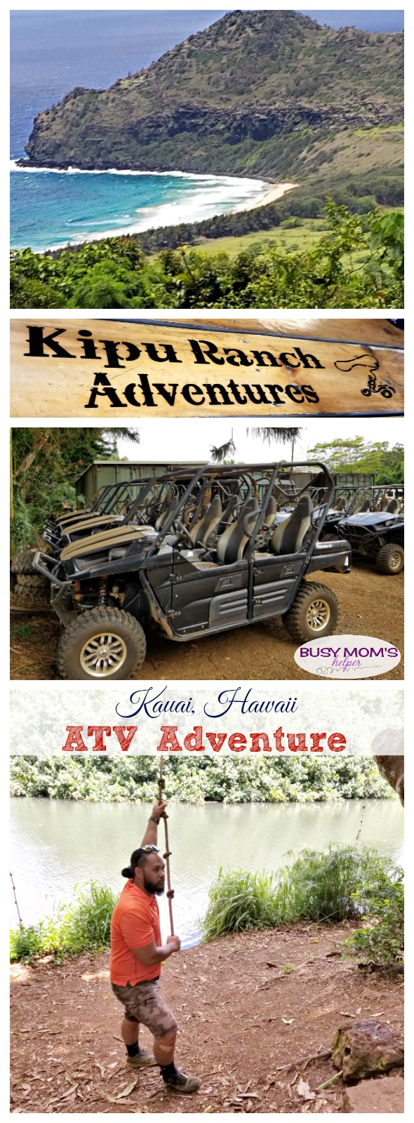 Kauai ATV Adventures. A fun & exciting activity to do on your Kauai, Hawaii vacation! #sponsored #KauaiDiscovery