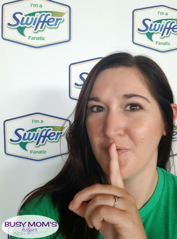 Another Year as a Swiffer Fanatic - check out our awesome kick-off event! #ad #swifferfanatic