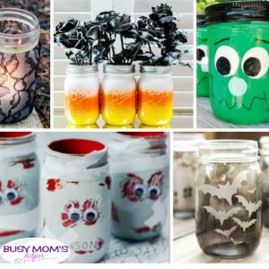 20 DIY Halloween Mason Jar Crafts