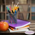 How to Organize Your Homeschool Supplies