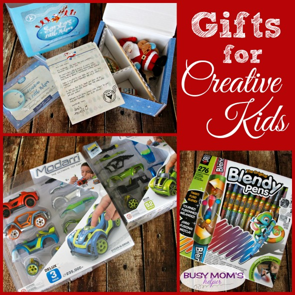 Gifts for Creative Kids: a 2017 holiday gift guide #ad