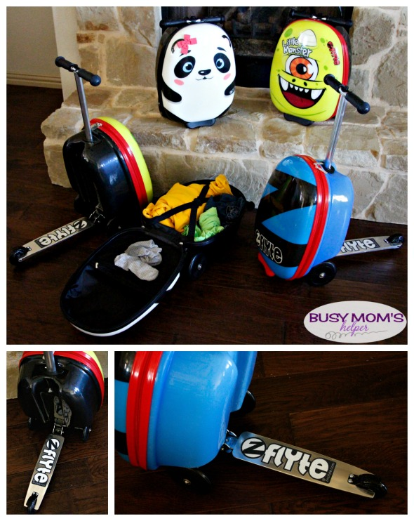 Travel with Kids Made Fun #ad #myzincflyte #sidthecyclops #pollythepanda #pacificblue
