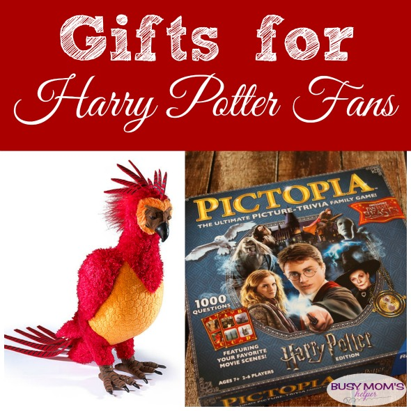 Gifts for Harry Potter Fans: a 2017 holiday gift guide #ad