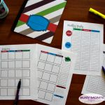 Free Printable 2018 Planner for Busy Moms