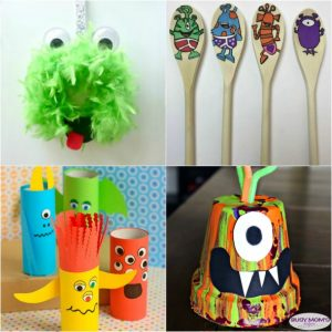21 Alien & Monster Crafts for Kids