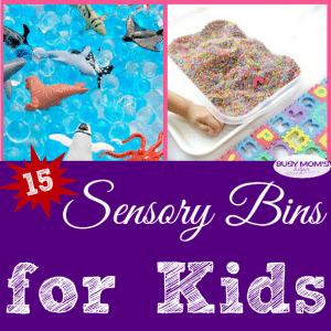 Sensory Bins for Kids #sensory #kidactivities #spd #sensoryactivities #sensorybin #kids