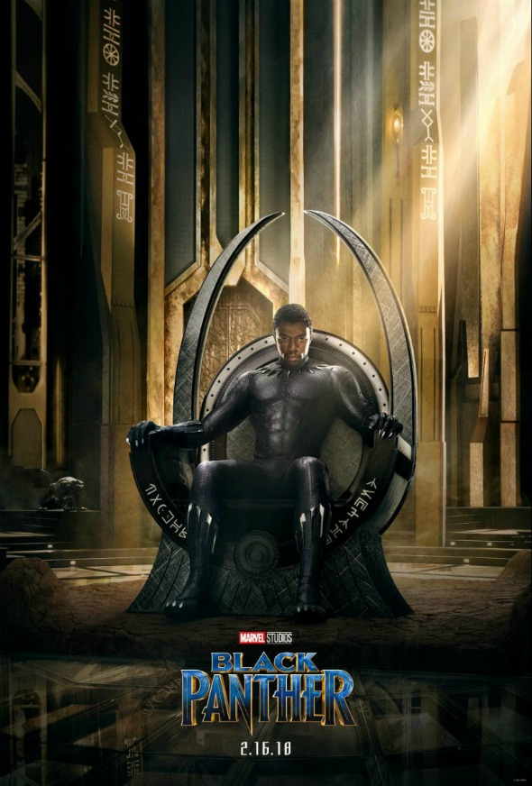 Black Panther Movie is beautiful, exciting, touching & a definite must-see! #blackpanther #movie #theater #marvel #superhero #disney