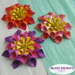 DIY Paper Flowers for Spring