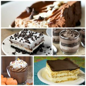 15 Satisfying Chocolate Desserts #chocolate #recipe #dessert #dessertrecipe #chocolatedessert #roundup #food #yummy