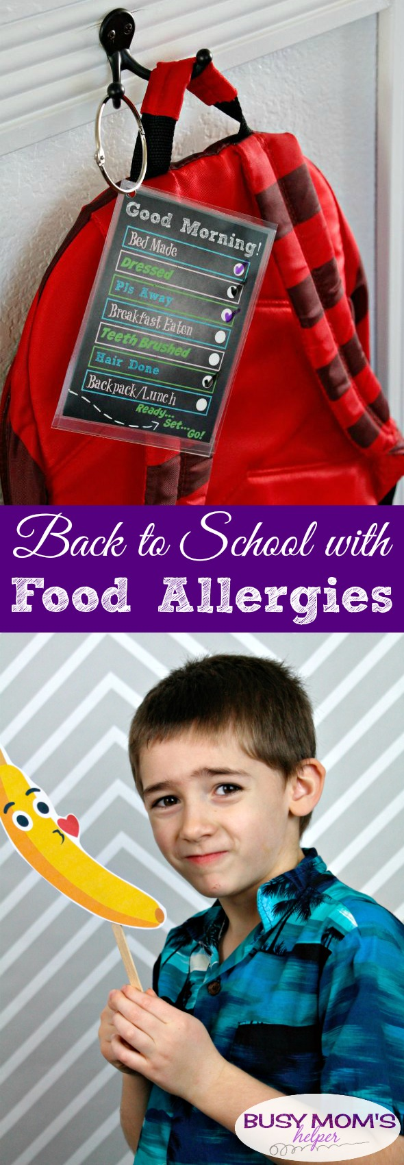 Back to School with Food Allergies / What you need to know about the safety measures the school nutrition programs take to keep kids with food allergies safe at school #AD #ANC18 #schoollunch