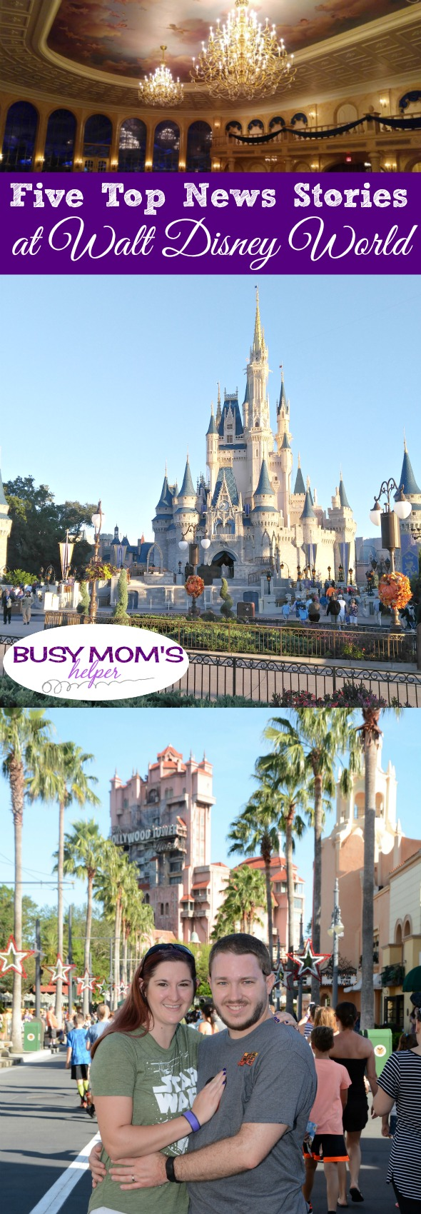 Five Top News Stories at Walt Disney World #travel #waltdisneyworld #disney #orlando