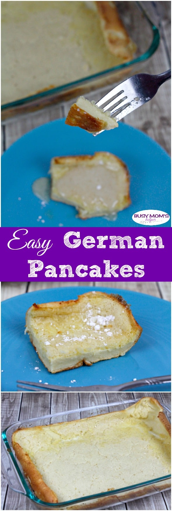 Easy German Pancakes #recipe #food #breakfast #pancakes #germanpancakes #easyrecipe #easymeal #easybreakfast #breakfastrecipe