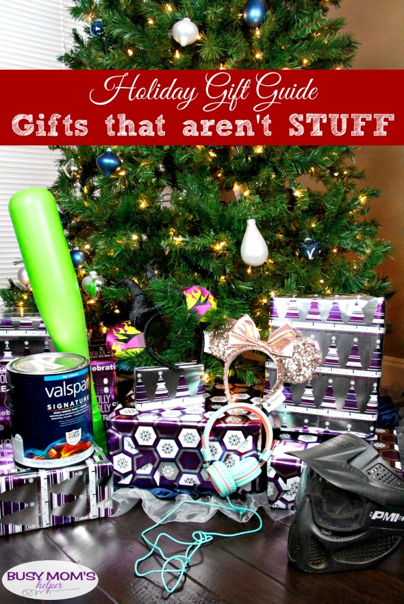 Holiday Gift Guide: Gifts That Are Not STUFF! #holidaygiftguide #giftideas #gifts