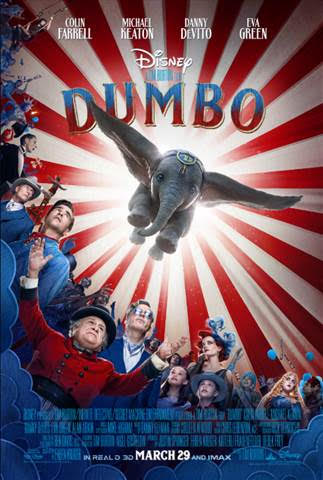 Walt Disney Movies Coming in 2019 #dumbo #movies #2019movies #theater