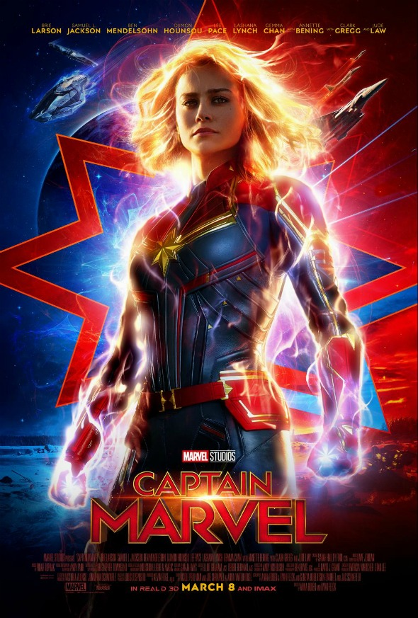 Captain Marvel - my new favorite superhero! #captainmarvel #partner #superhero #marvel #avengers