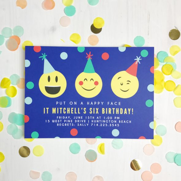 Birthday Invitations the way YOU want them - customized! #ad #basicinvite @basicinvite