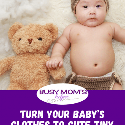 Turn Your Baby's Clothes to Cute Tiny Bear Toys
