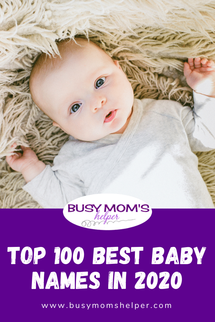Top 100 Best Baby Names in 2021